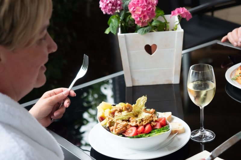 Gastronomie Wellness-Salat Badepark Bentheim