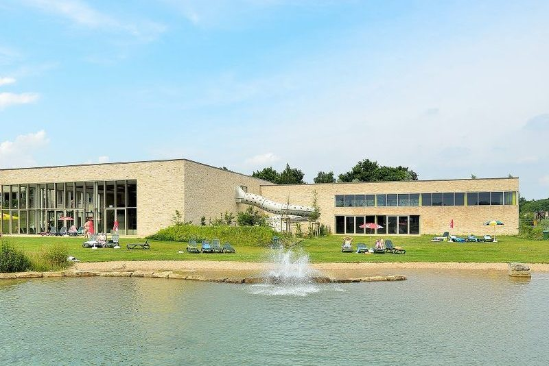 Außenansicht Badepark Bentheim