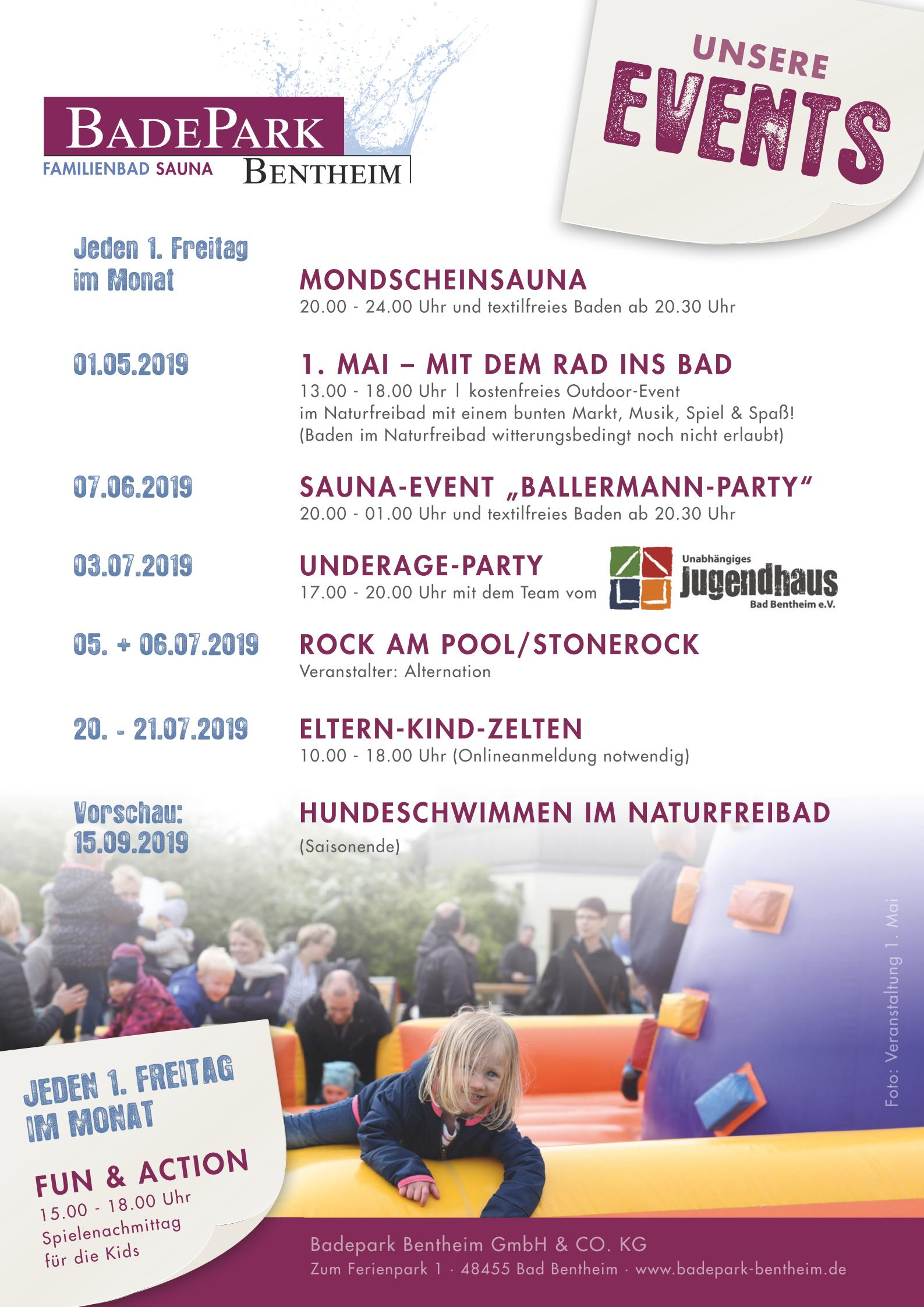 Events Sommer 2019