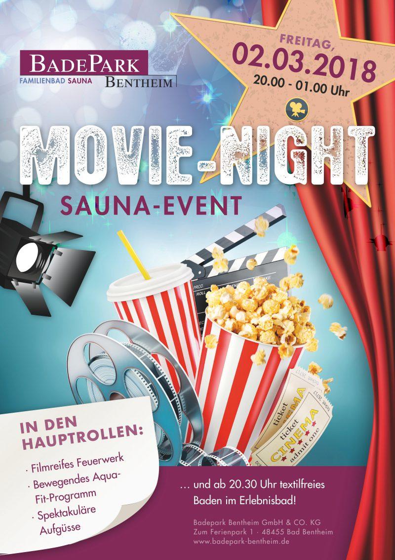 "Saunaevent ""Movie-Night """