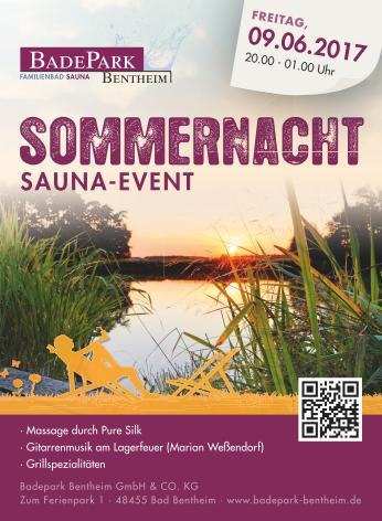 Saunaevent Sommernacht